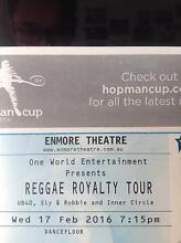 UB40 TICKETS X2 at ENMORE THEATRE WEDNESDAY 17th FEB 2016 Campsie Canterbury Area Preview