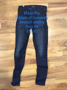 Maternity jeans size 24 citizen of humanity