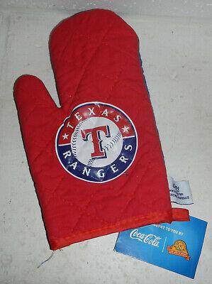 NWT Texas Rangers MLB Baseball Coca-Cola Coke Oven Mitt Glove