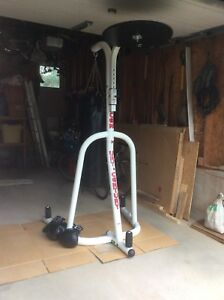 CENTURY PUNCHING BAG STAND WITH PUNCHING BAG