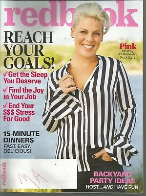Redbook June 2018 Pink/Reach your goals/15-Minute Dinners/Backyard party ideas - Backyard Party Ideas