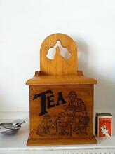 VINTAGE 70'S/80'S ORIGINAL COLLECTABLE TEA CADDY Carnegie Glen Eira Area Preview