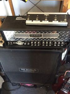 Mesa Boogie Triple Rec and matching Rec cab