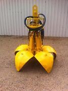 Hydraulic orange peel excavator grab Mansfield Mansfield Area Preview