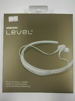 Samsung Level U Bluetooth Wireless Headphones - White