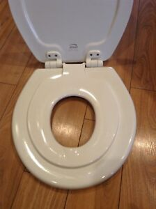 Bemis Next Step toilet seat with built in potty seat