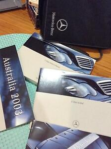 Mercedes 2003 C Class kompressor Owners Manual South Morang Whittlesea Area Preview