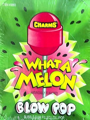 Charms Blow Pop What A Melon  48 Count / 1.95 lbs *