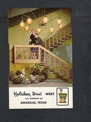 M248 Chrome Postcard 3x5  Holiday Inn Amarillo  Texas