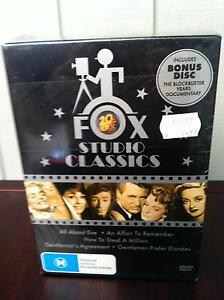 BOXED DVD SET FOX STUDIOS CLASSICS NEW IN SEALED WRAPPING Carnegie Glen Eira Area Preview