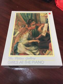 Vintage Puzzle: Girls at Piano