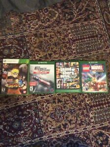 Xbox one games and one Xbox 360