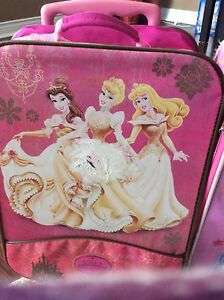 Princess and Dora rollaway luggages