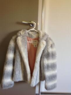 Vintage faux fur jacket size 12 Gwelup Stirling Area Preview