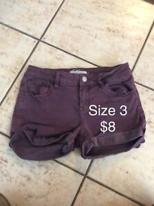 Misc. women's bottoms size xs/s