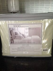Queen size 1000 thread count sheets