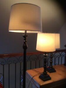 Lampes sur pied et de bureau