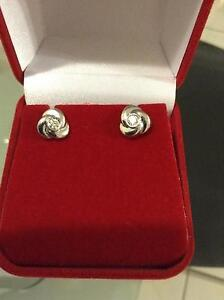 Beautiful Diamond and White Gold Earrings Cleveland Redland Area Preview