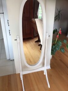 Gorgeous mirror ( wooden frame) refurbished. Firm price