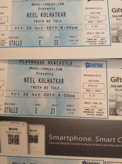 Neel Kolhatkar Tickets Adamstown Heights Newcastle Area Preview