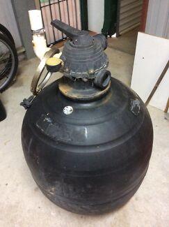 Onga Pool sand filter and pump