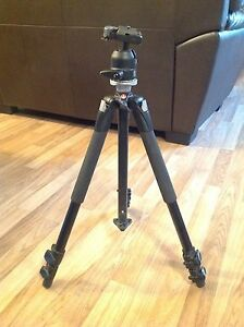 Manfrotto 190XB Tripod and Manfrotto 486RC Ball head