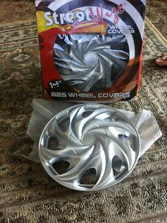 "Street wise 14"" abs wheel covers brand new still in box St Helens Break ODay Area Preview"