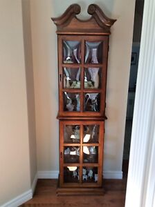 Curio Cabinet - Great Condition - Must Go