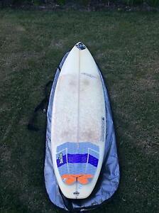 "Maddog, Crisp shaped 7'6"" surfboard Buderim Maroochydore Area Preview"