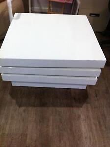 Coffee table white gloss Redland Bay Redland Area Preview