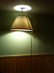 Light green hanging light