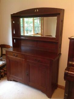 Australian oak sideboard (early 1900s) Northbridge Willoughby Area Preview