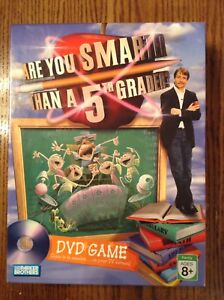 DVD Game -- Are You Smarter Than A 5th Grader