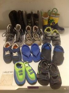 Boys shoes and boots.  Size 7