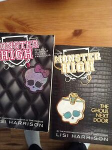 Two monster high books