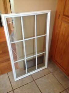 Glass door insert