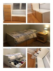 IKEA Kid's bedroom set whole set furnitures bed