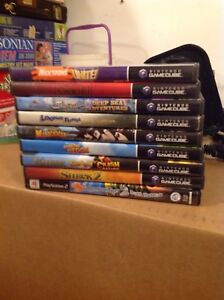 GameCube video games and PSP games