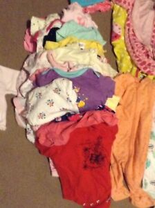 HUGE bag of girls baby clothing NB-12M
