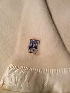 Kenwood wool blanket