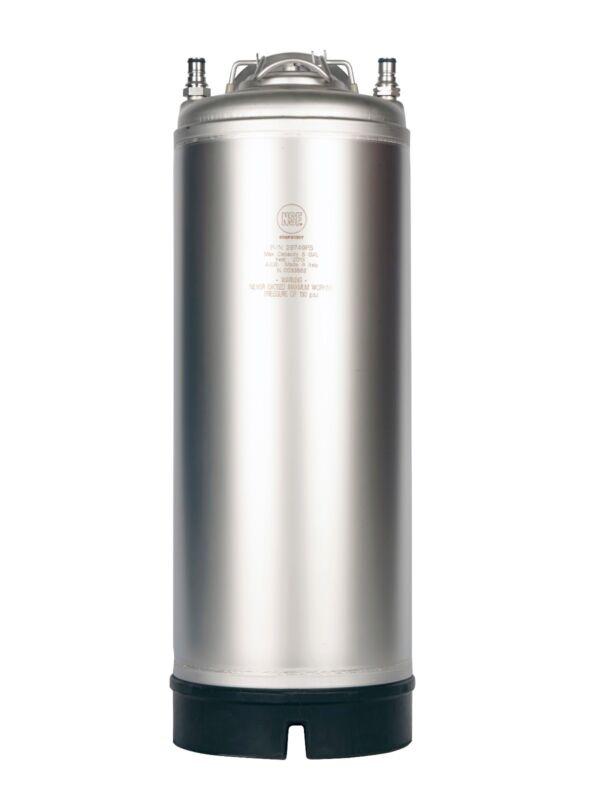 5 Gallon Ball Lock AEB Keg New - Pressure Relief - Homebrew Beer - Nitro Coffee