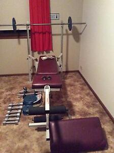 Weight bench and weights Lochinvar Maitland Area Preview