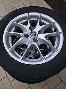 4 alloy wheels and tyres Canning Vale Canning Area Preview
