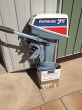 Evinrude 7.5hp Outboard Motor Nuriootpa Barossa Area Preview