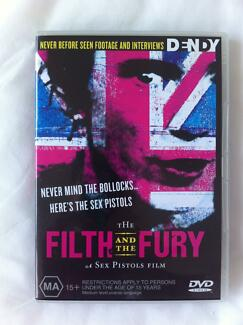 The Filth and the Fury dvd- A sex pistols film Brunswick East Moreland Area Preview