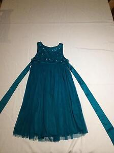 Size 9 children's evening dress Bonogin Gold Coast South Preview