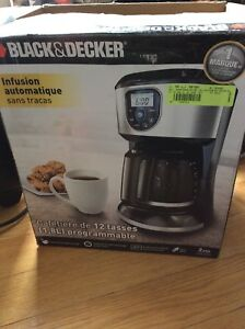 Brand new in box programmable coffee maker