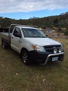 2005 Toyota Hilux flat-tray Dromedary Brighton Area Preview