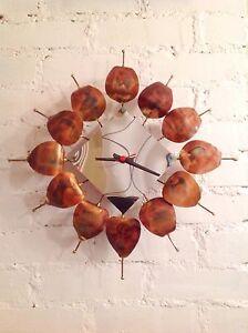 RARE Vintage Horloge Murale Mid Century MCM KIENZLE Clock