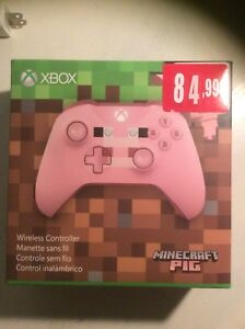 Selling Xbox one controller special mine craft pig